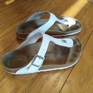 Birkenstock Giza sandals (vegan leather)